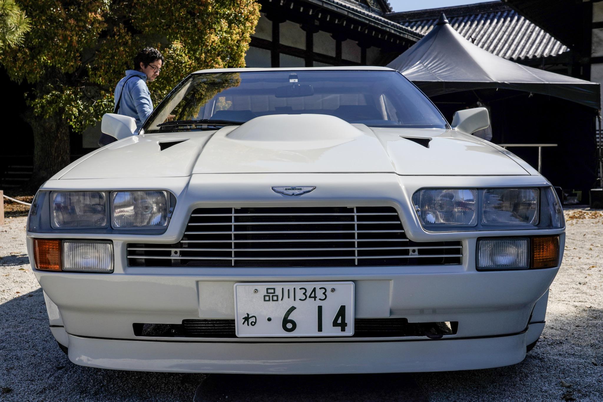 アストンマーティン V8 ヴァンテージ ザガート 外装 フロント コンコルソ・デレガンツァ・京都2019