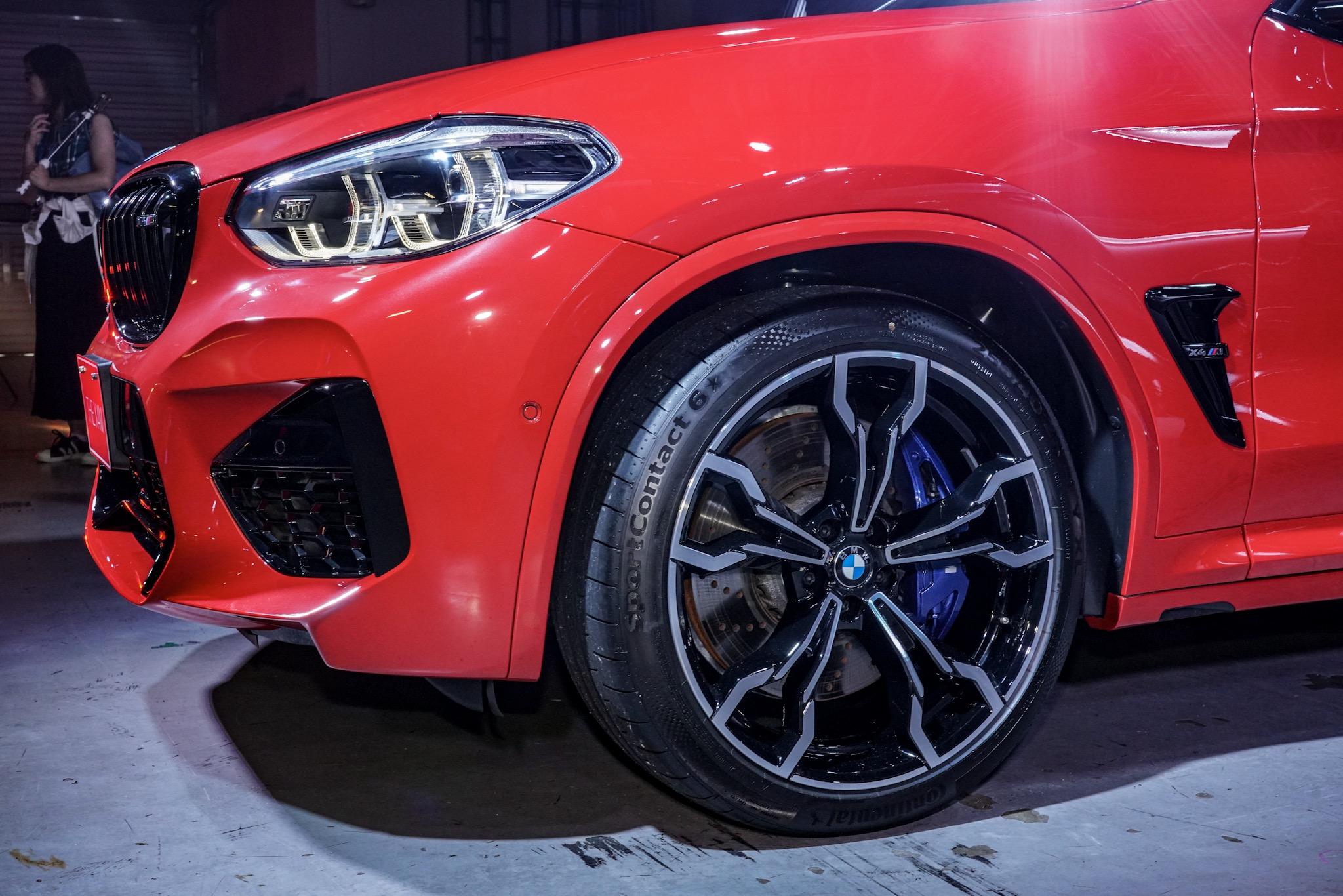 BMW X4 M コンペティション ホイール