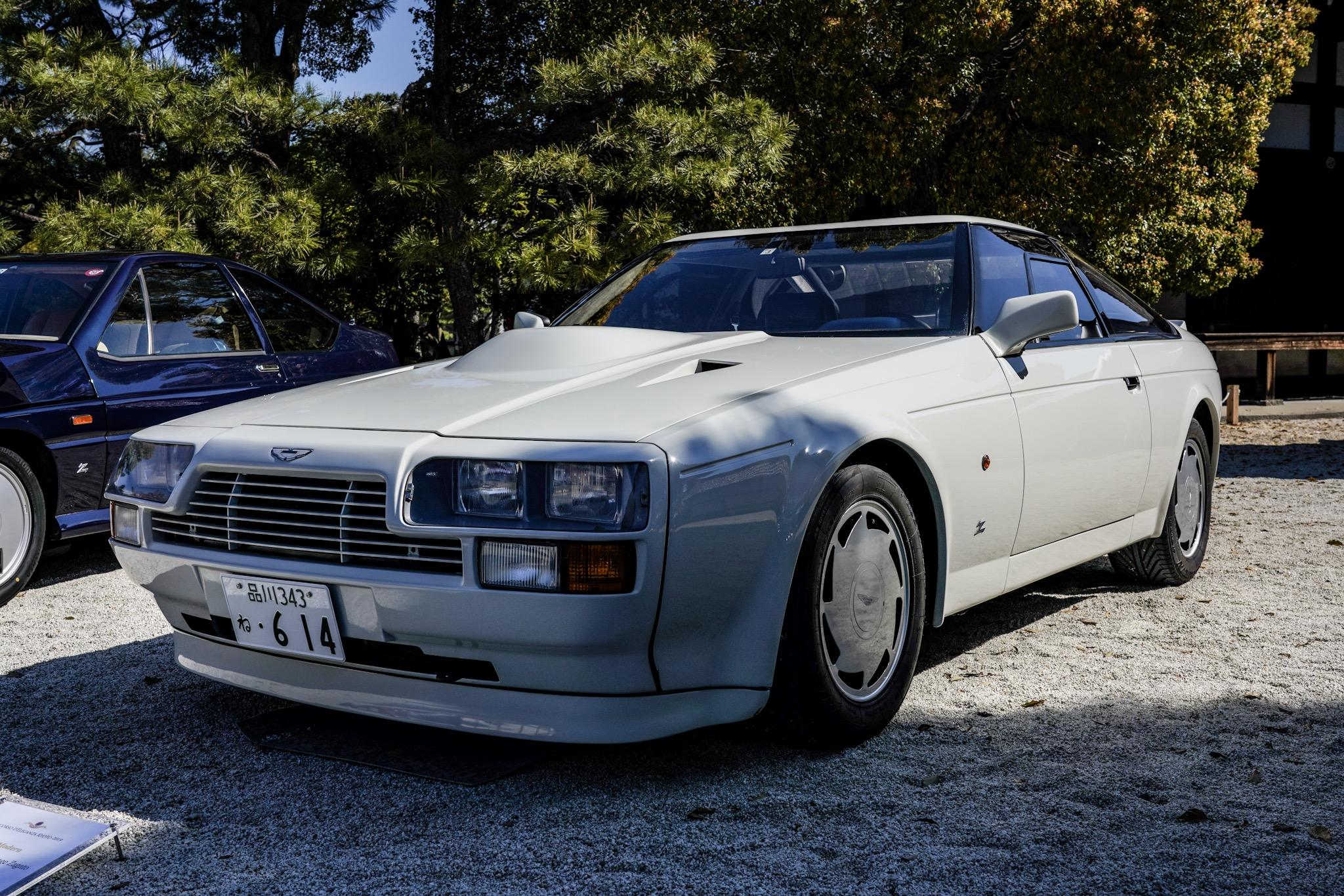 アストンマーティン V8 ヴァンテージ ザガート 外装 フロント・サイド コンコルソ・デレガンツァ・京都2019