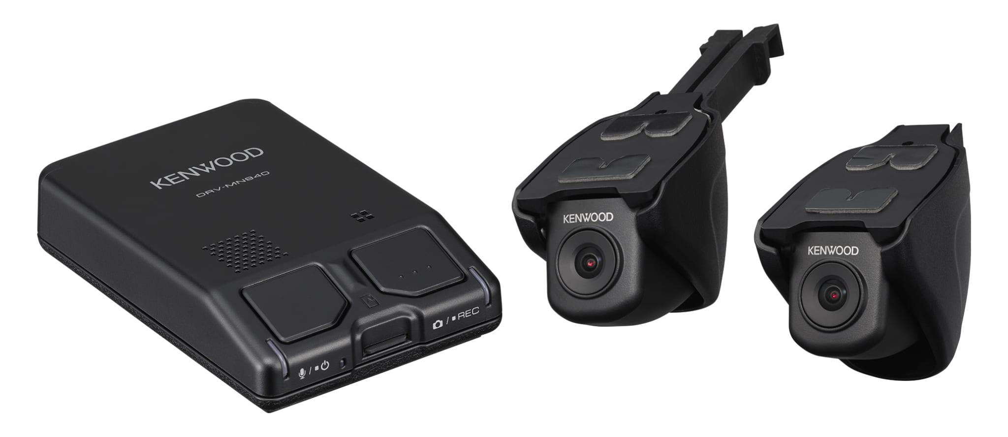 ケンウッド ナビ連携2カメラドライブレコーダー DRV-MN940