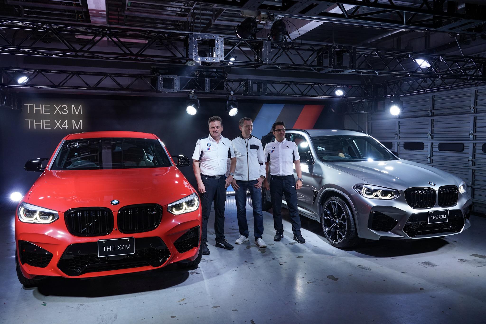 BMW X3 M/X4 M発表会