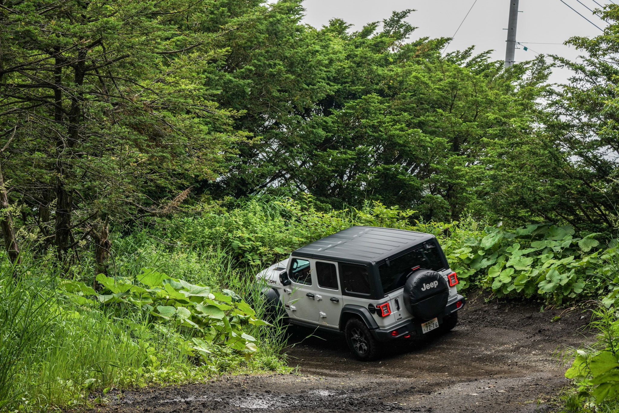 Jeep All Trail Rated試乗会