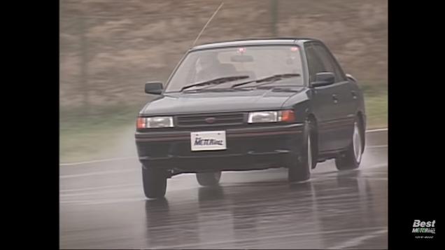 ベストモータリング 平成ドリフトナンバーワン04 マツダ ファミリア 4WD GT-X