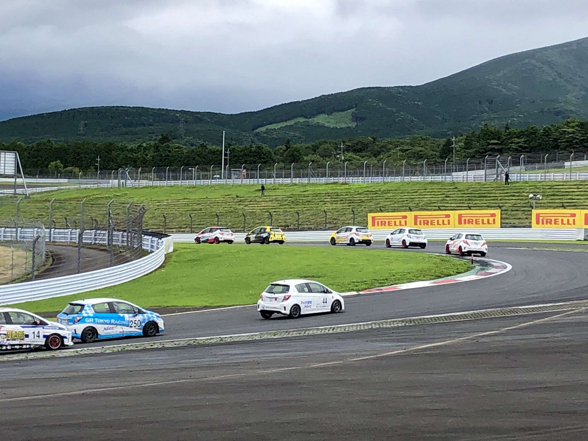 Netz Cup Vitz Race(ヴィッツ・レース)250番車 咲川めり選手