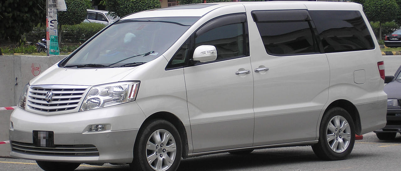 TOYOTA_ALPHARD_UA-ANH10W_front_side
