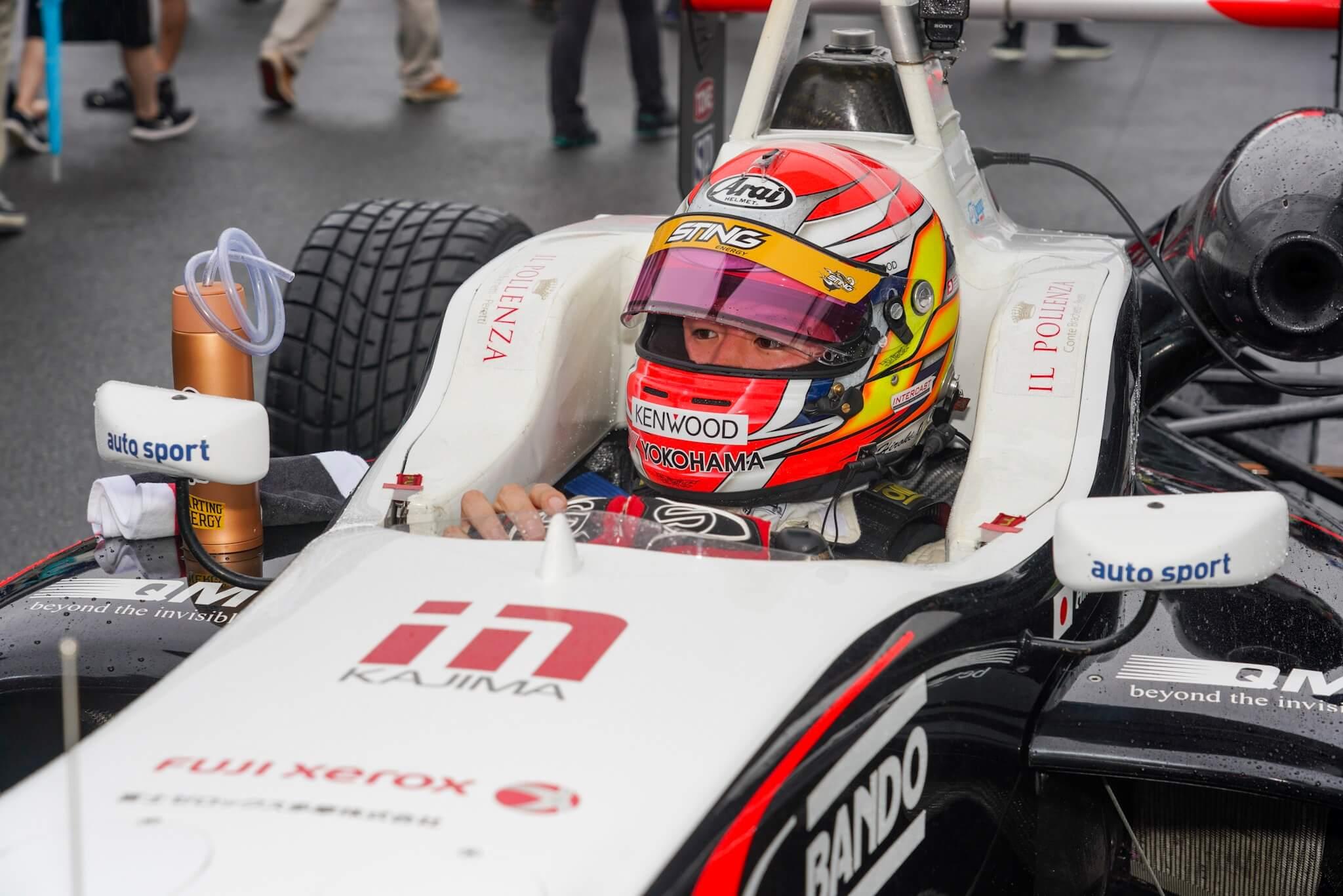 F3 スリーボンドレーシング 12号車 大津弘樹選手