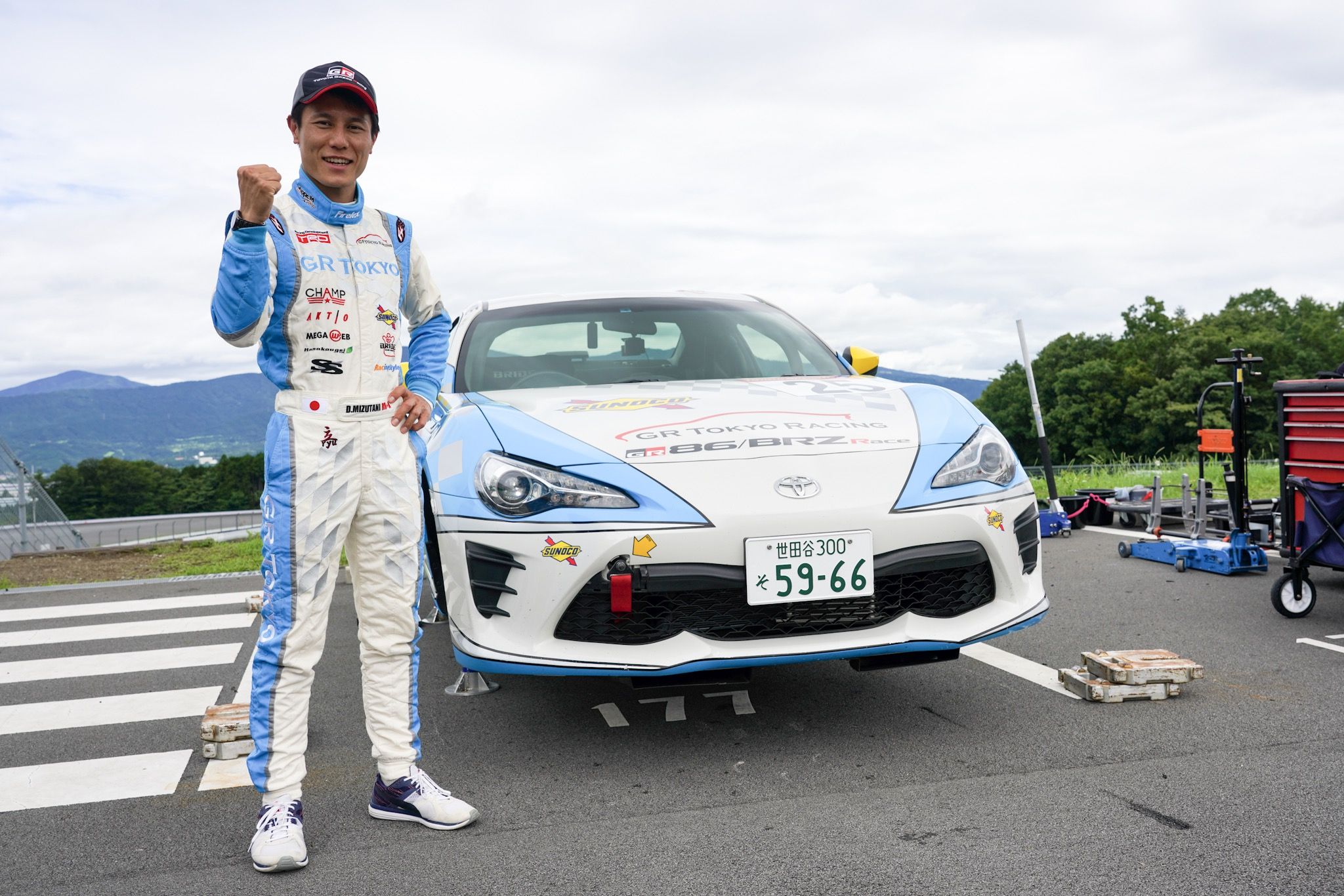 86/BRZレース 25番車 水谷大介選手