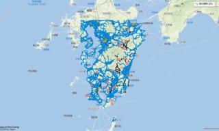 【九州豪雨・防災情報】ホンダ「インターナビ」コネクテッド技術で通行可能道路情報を共有