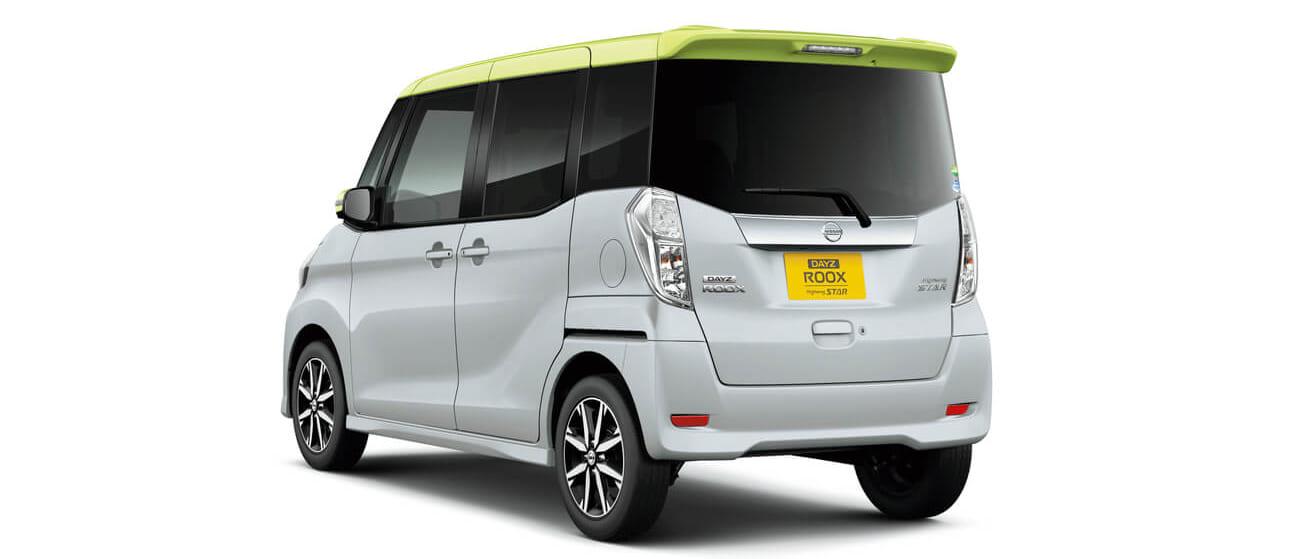 Nissan_DAYZ-ROOX_Highway-STAR_DBA-B21A_rear_side