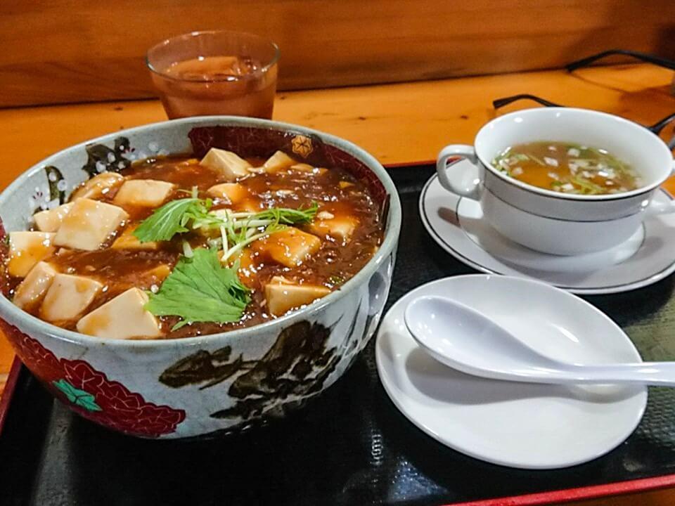 酔神のメガ盛麻婆豆腐丼(石川県かほく市)