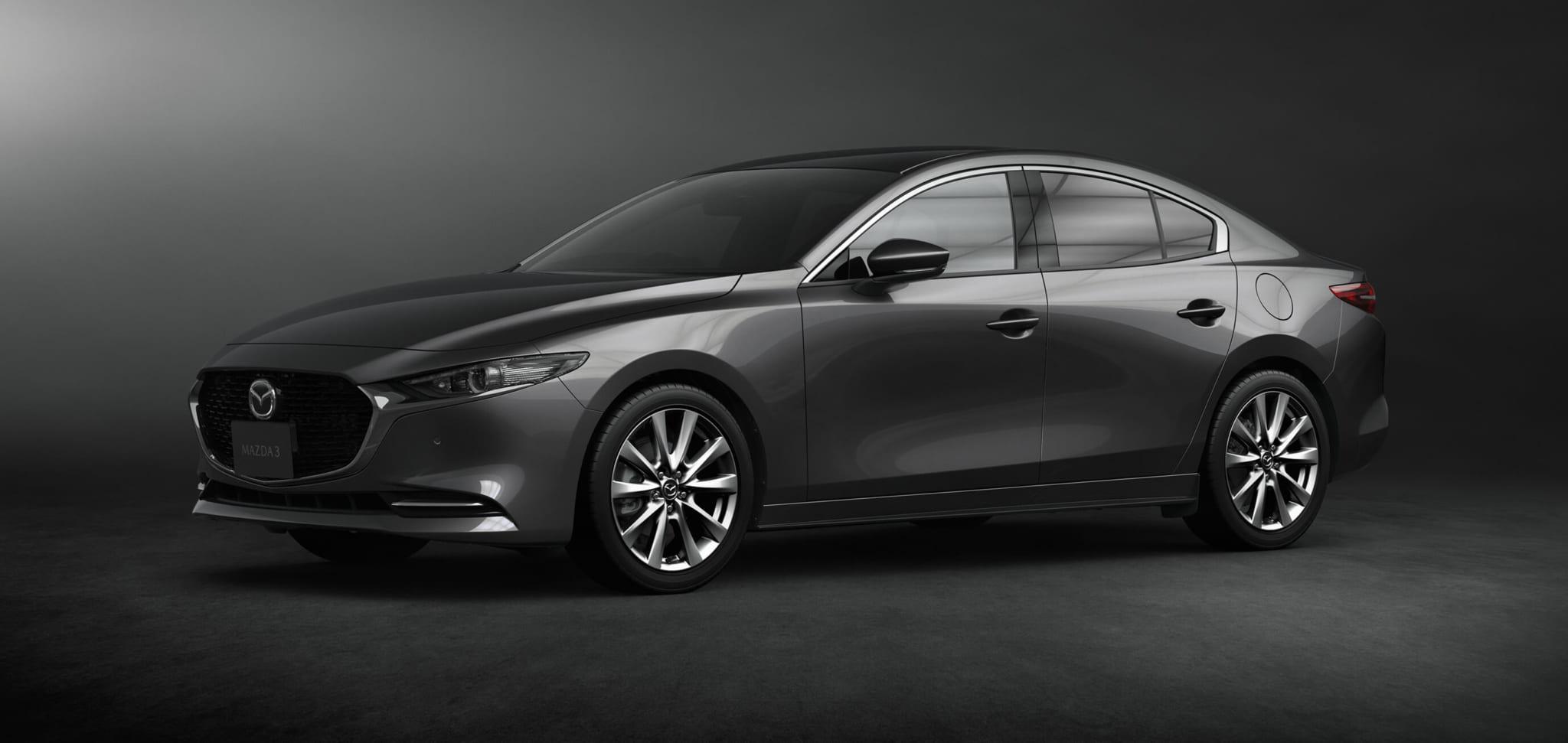 2019年新型車 マツダ Mazda3 セダン