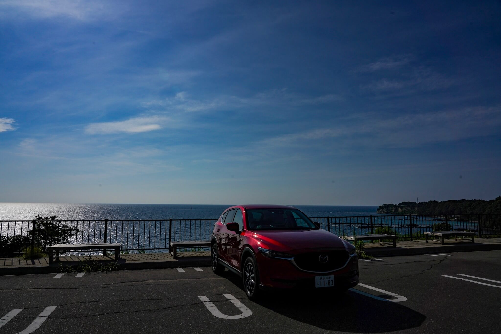 聖域の岬・青の洞窟 パワースポット 駐車場