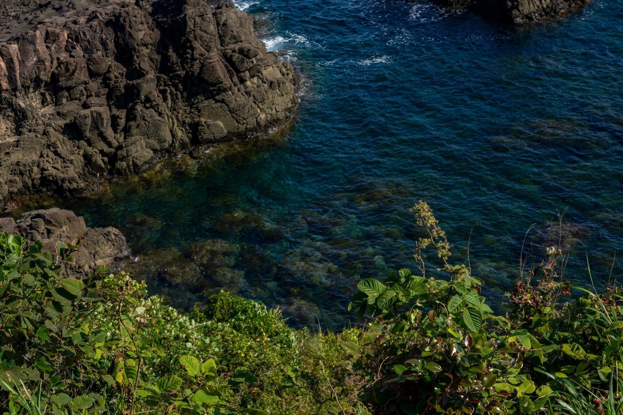 聖域の岬・青の洞窟 パワースポット