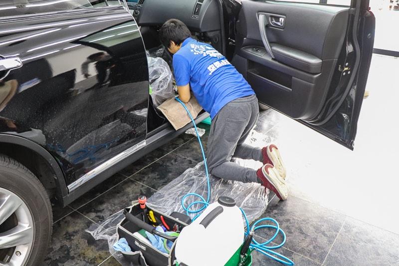 空気の洗車屋さん