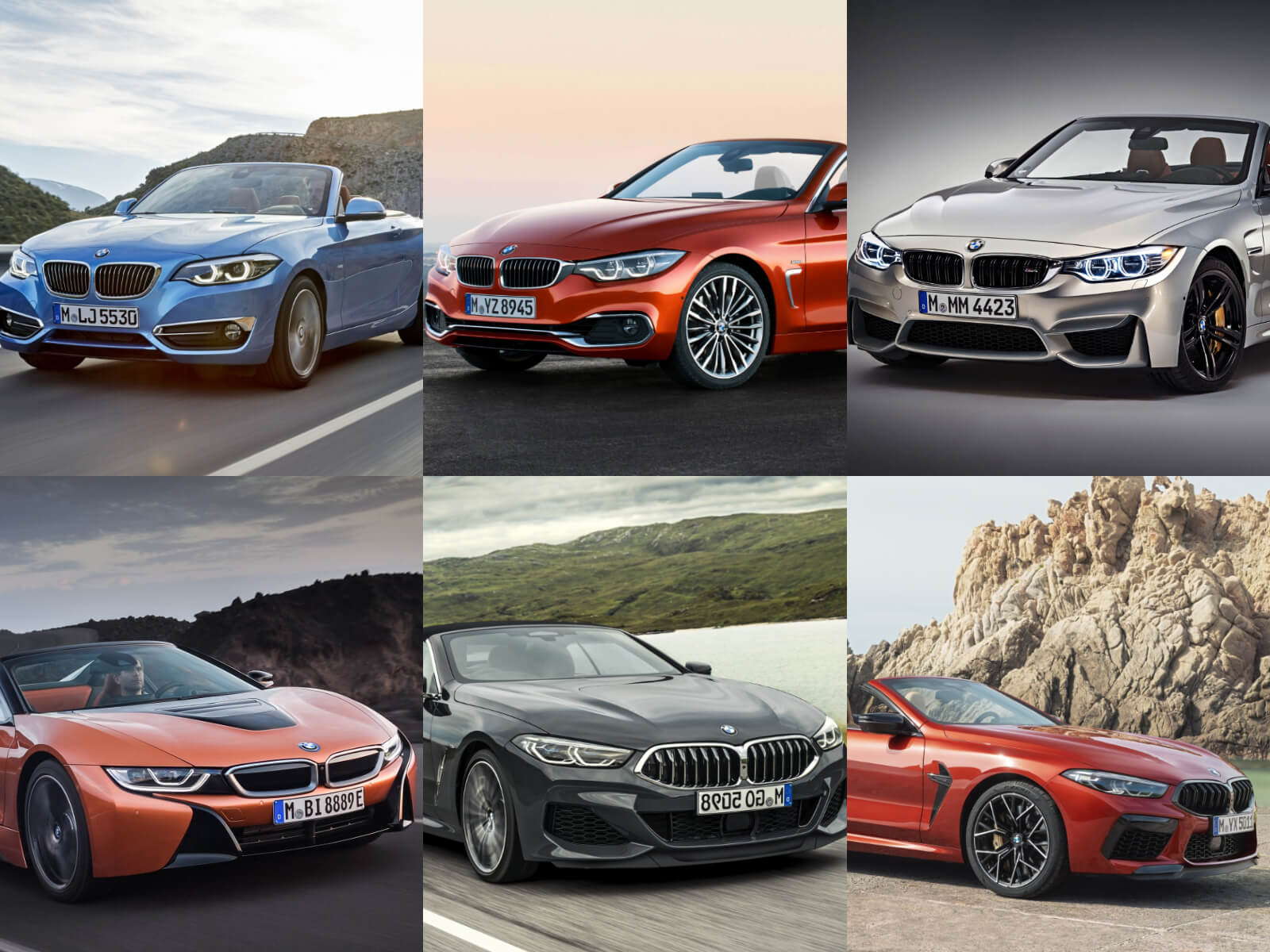 BMW オープンカー サムネイル
