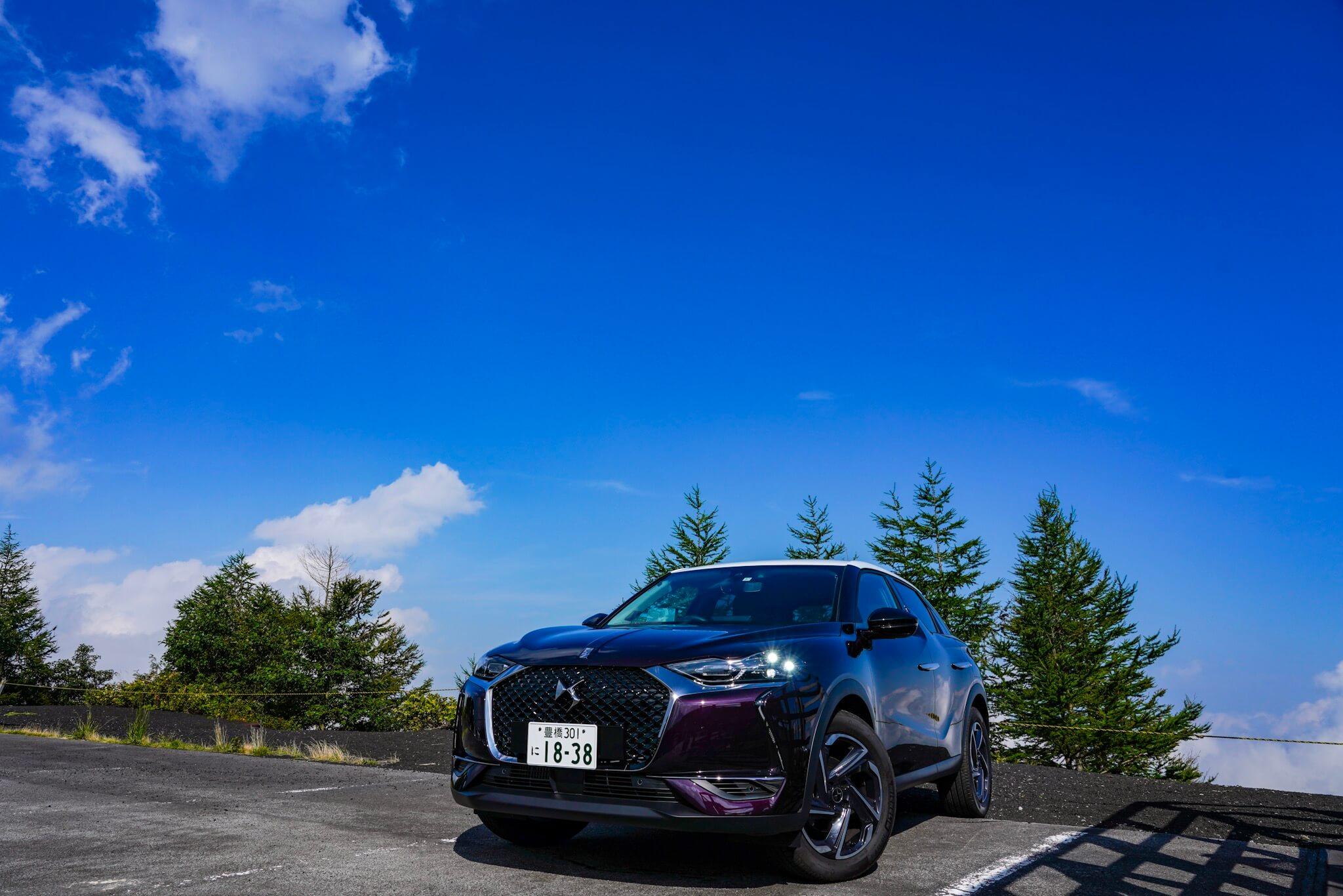 富士山スカイライン新五合目駐車場