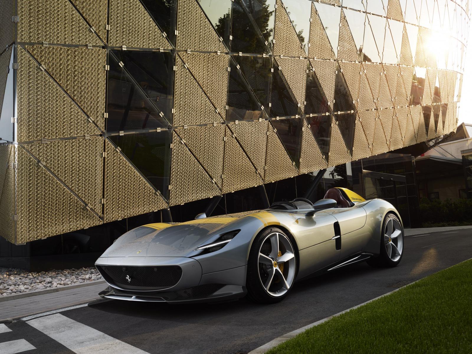 フェラーリ モンツァSP1 2019年