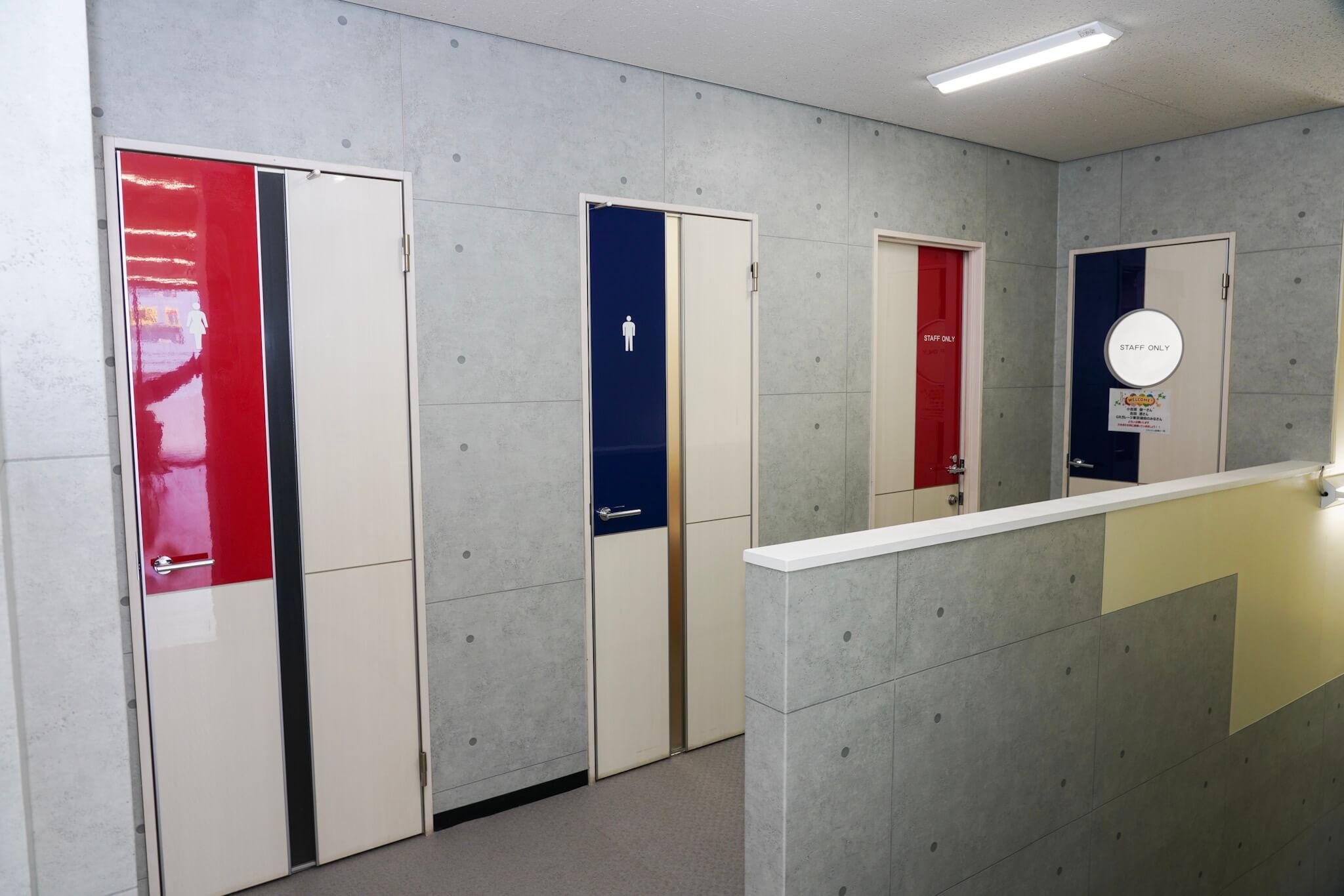 GR Garage東京蒲田 トイレ