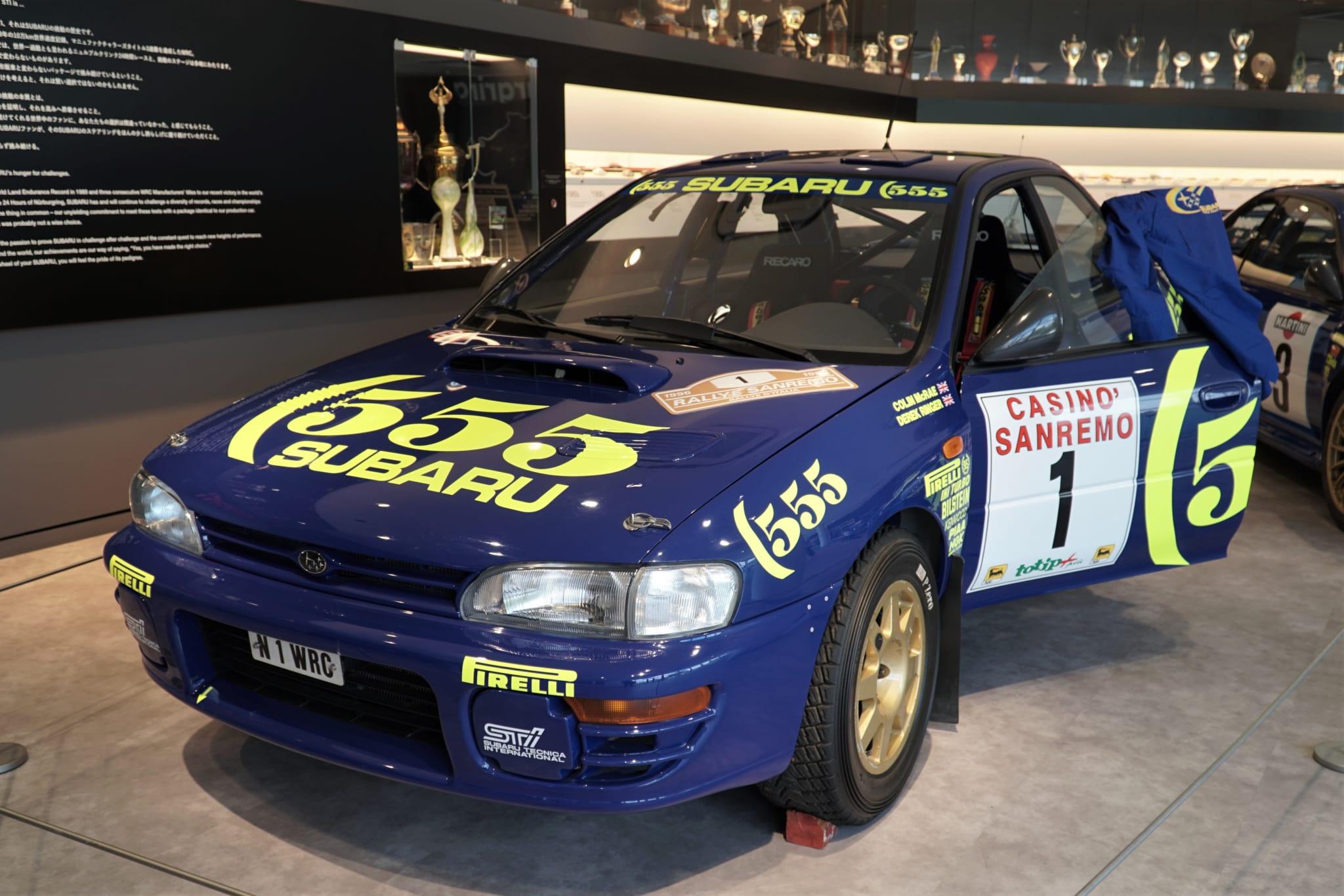 スバル インプレッサ WRC
