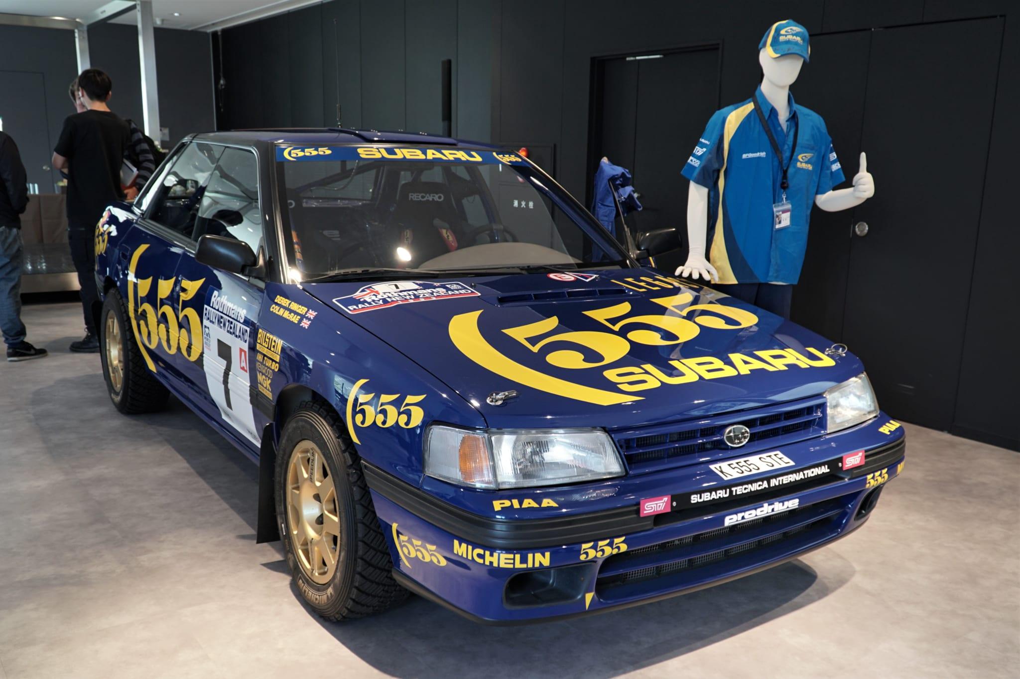 スバル レガシィ WRC