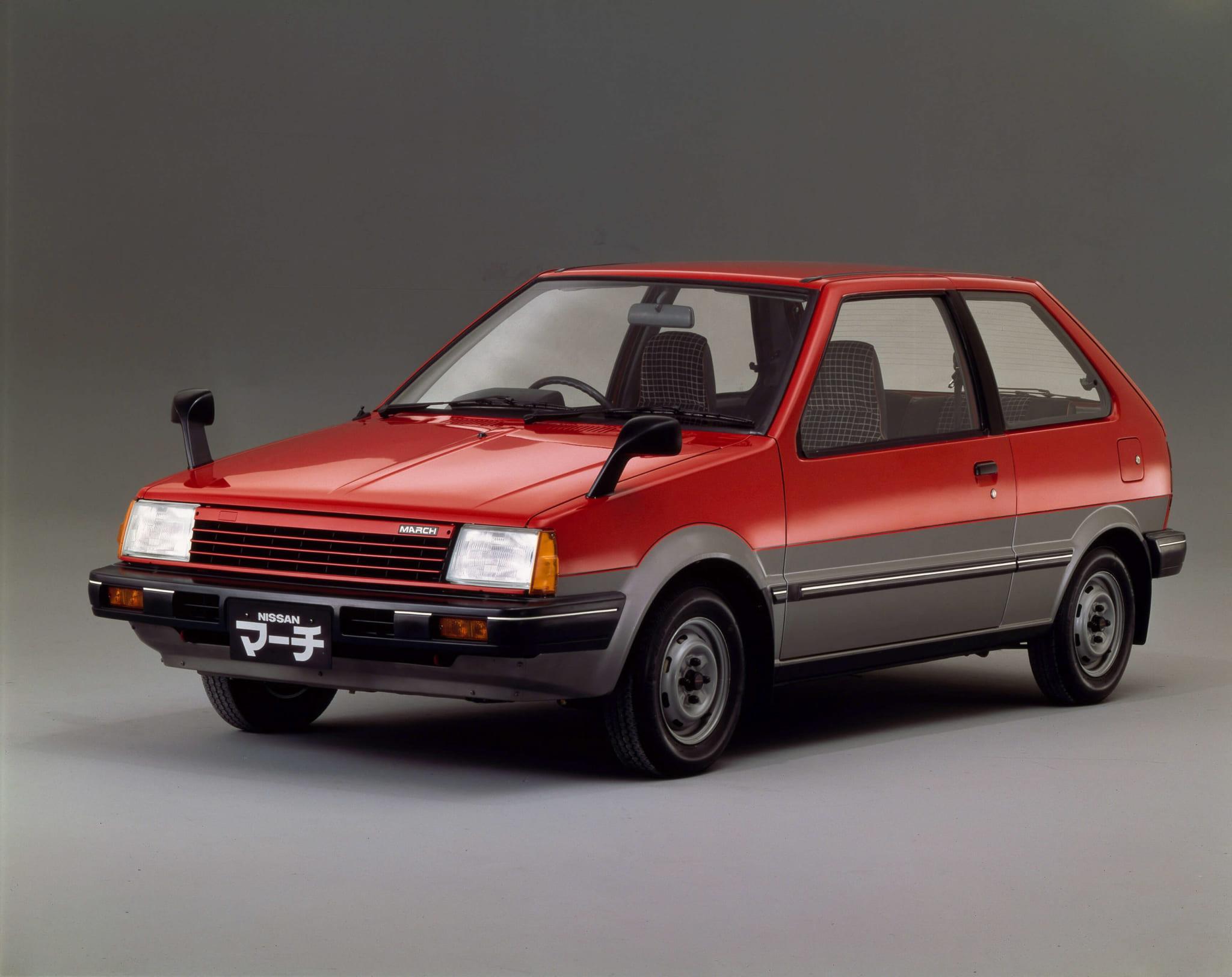 日産 マーチ 初代 K10型 フロント サイド