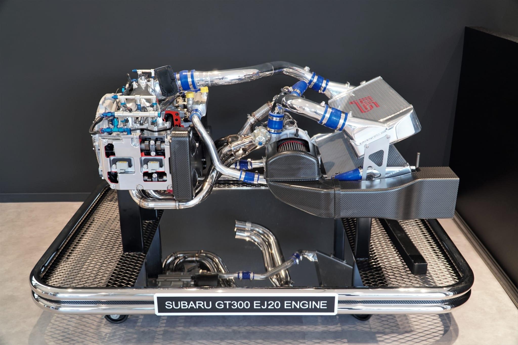 GT300 BRZ エンジン