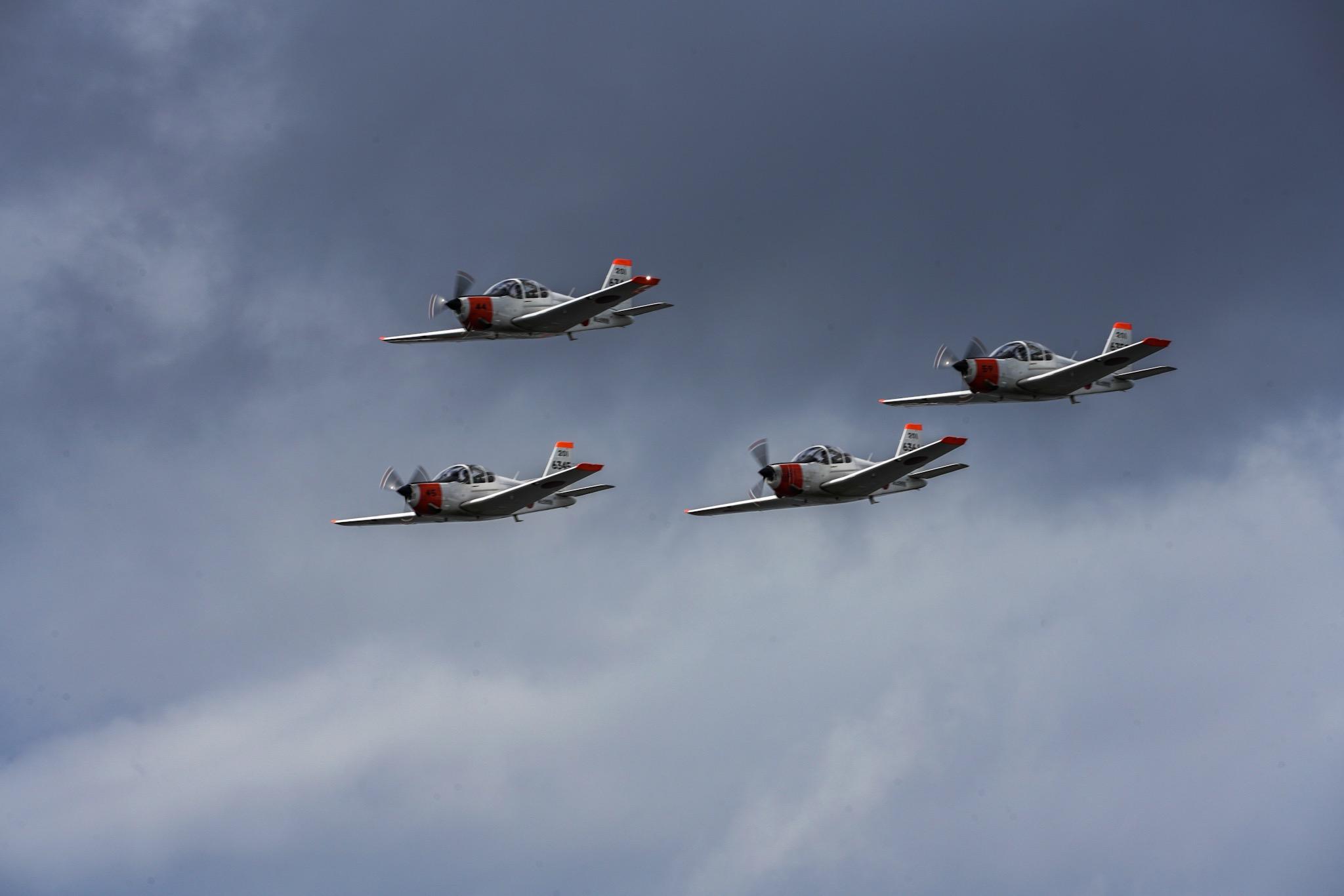 海上自衛隊曲技飛行チーム「WHITE ARROWS」