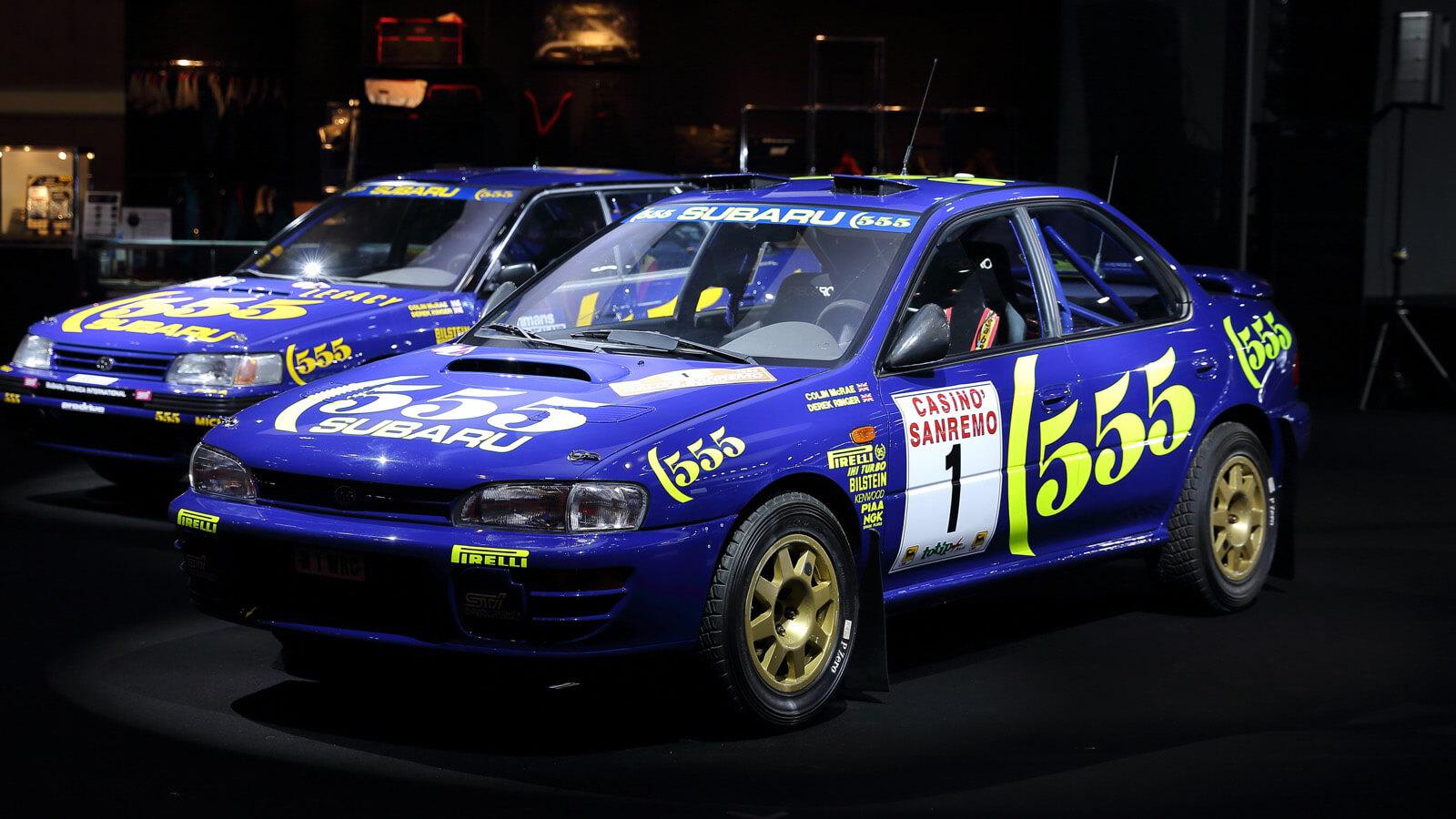 スバル インプレッサWRX 1996年 サンレモラリー