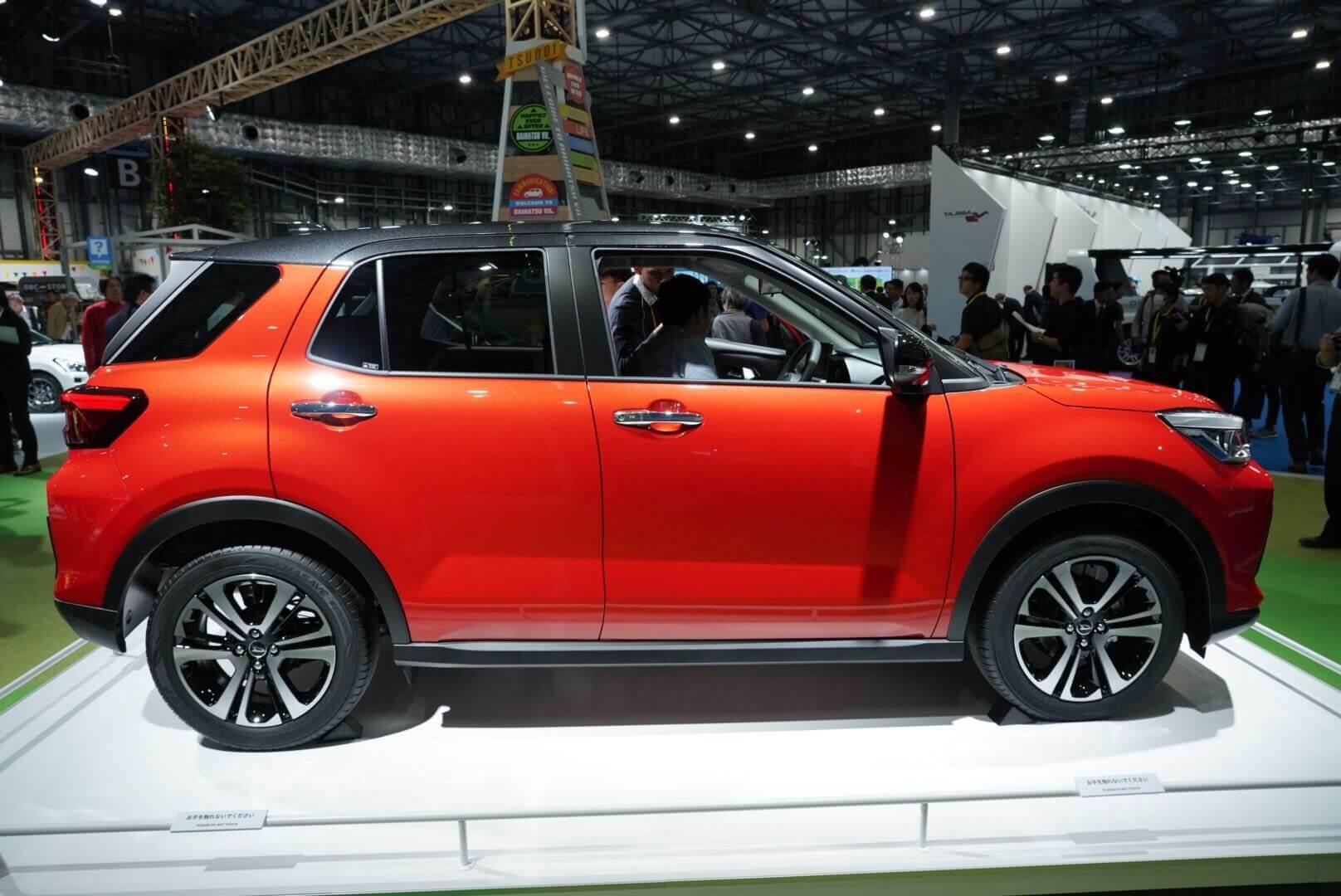 ダイハツ(トヨタ)新型 小型車(A-SUV?)東京モーターショー2019