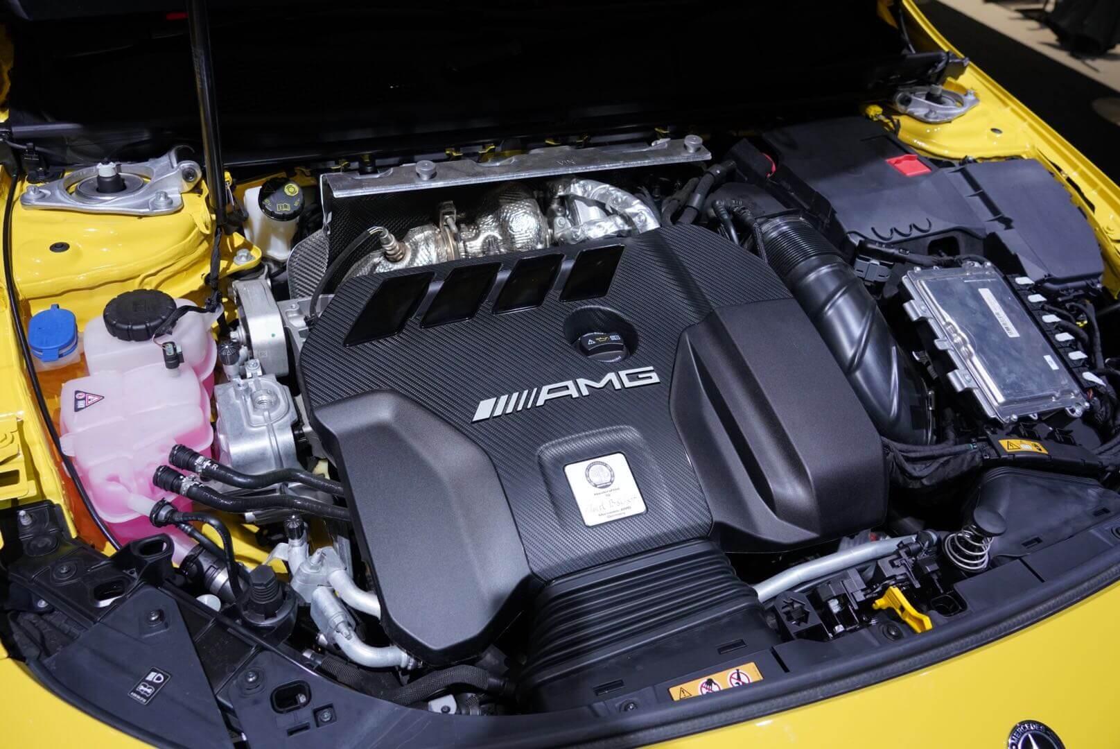 メルセデスAMG A45 S 4MATIC+ 東京モーターショー2019