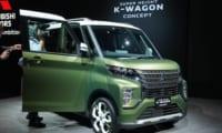 三菱新型eKスペースか?スーパーハイト軽ワゴンコンセプトを東京モーターショー2019で発表