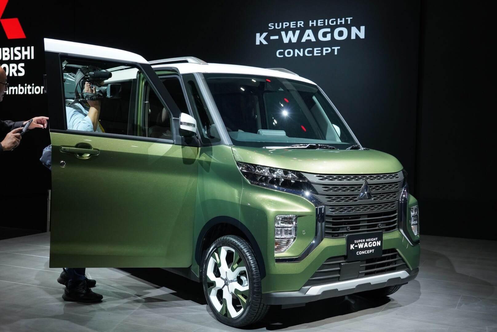 三菱 スーパーハイトKワゴンコンセプト 東京モーターショー2019