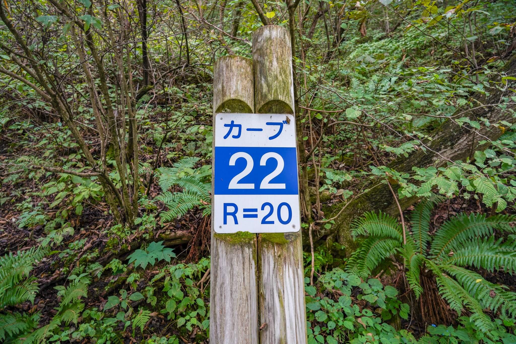 榛名山(秋名山)カーブNo.22