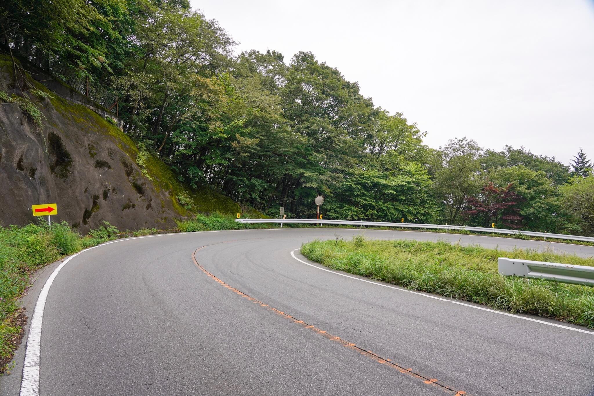榛名山(秋名山)カーブNo.29