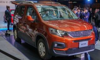 プジョー リフター発売へ!カングーがライバルの新型SUVミニバン