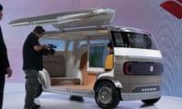 スズキ 新型自動運転車「HANARE」を東京モーターショーで公開