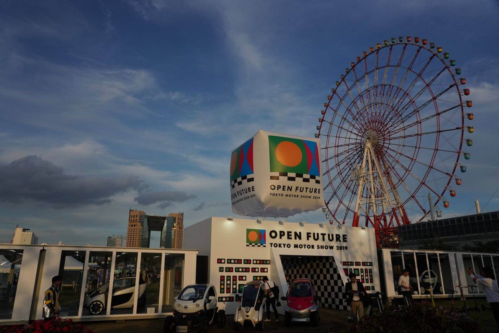 東京モーターショー2019 会場風景