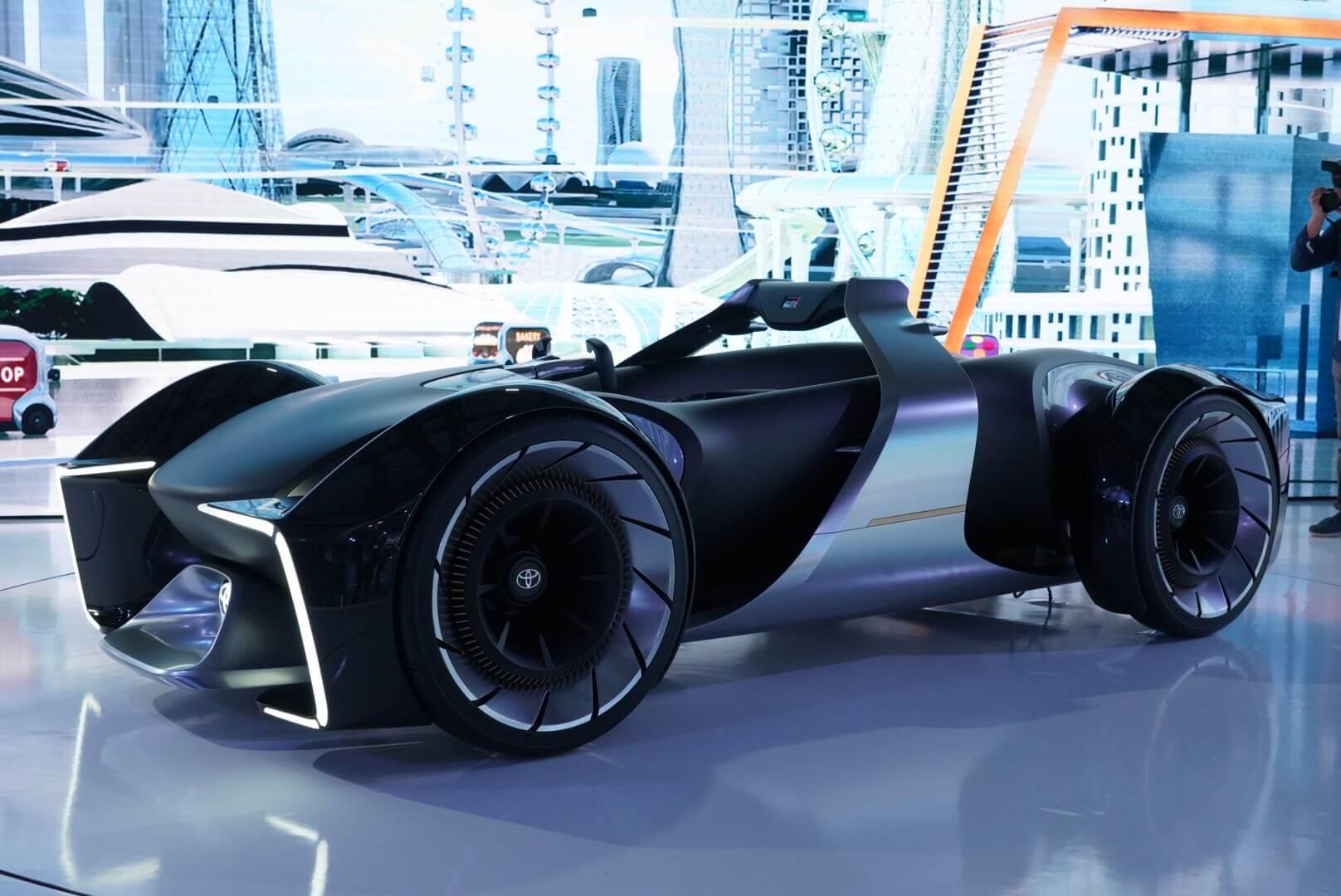 トヨタ e-RACER(eレーサー)東京モーターショー2019