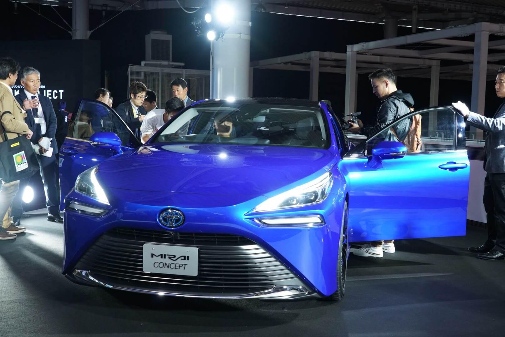トヨタ ミライコンセプト 東京モーターショー2019