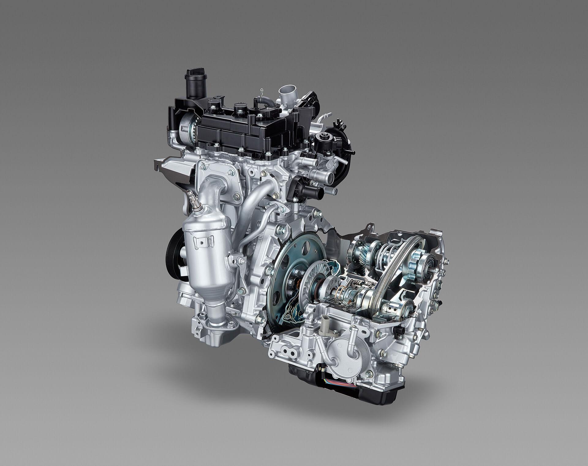 トヨタ ヤリス 1KR-FE エンジン