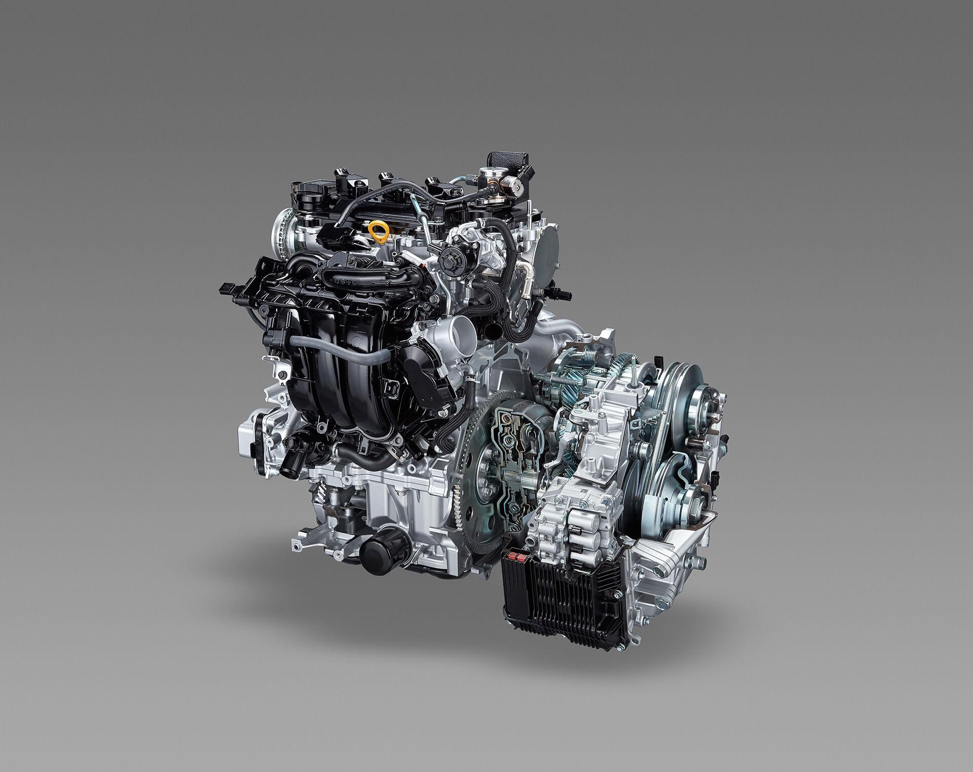 トヨタ ヤリス 1.5L ダイナミックフォースエンジン Direct Shift-CVT