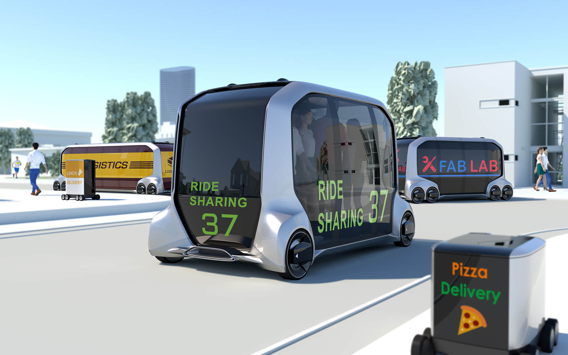 トヨタ eパレットコンセプト 2018