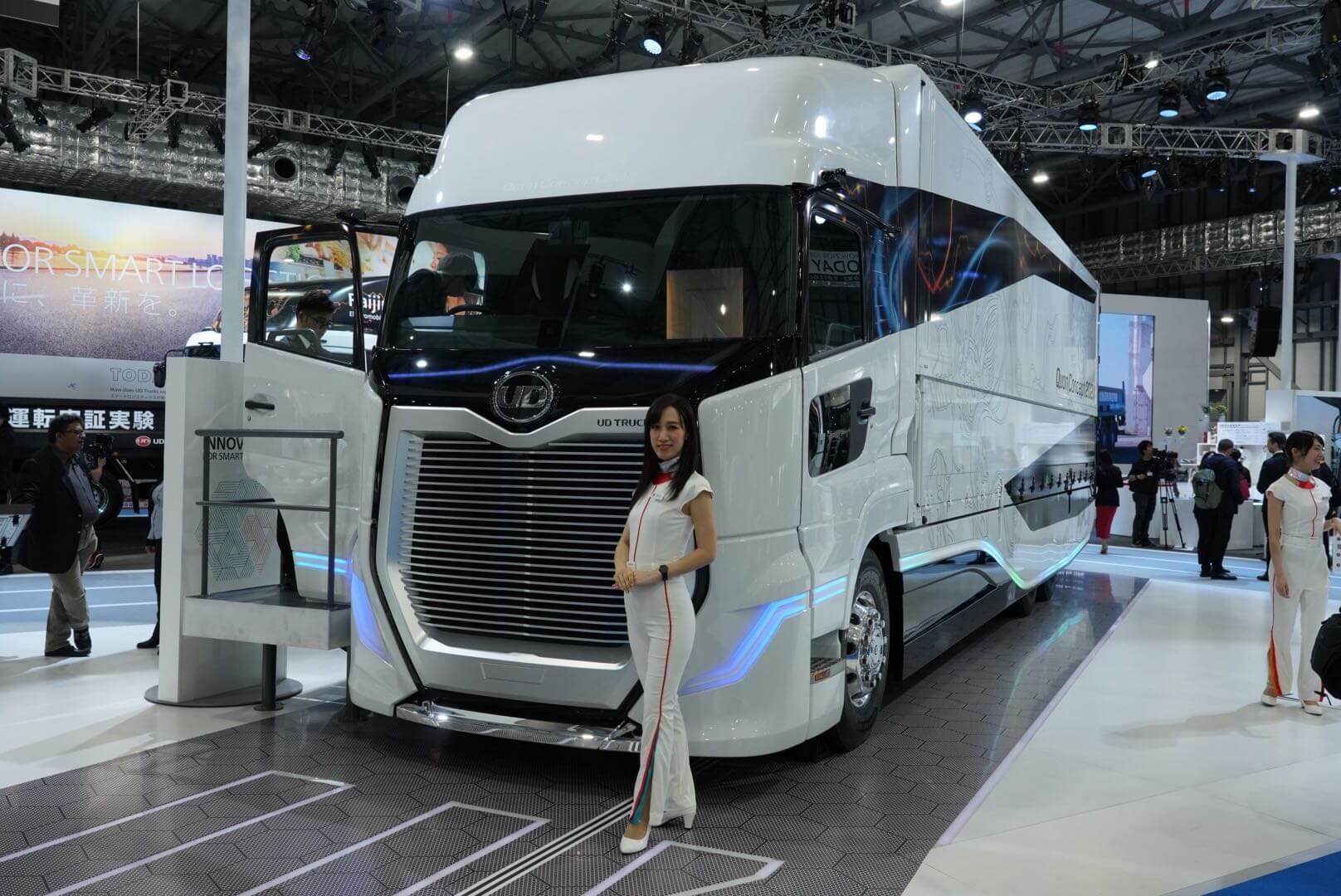 UDトラックス クオン コンセプト 202X 東京モーターショー2019