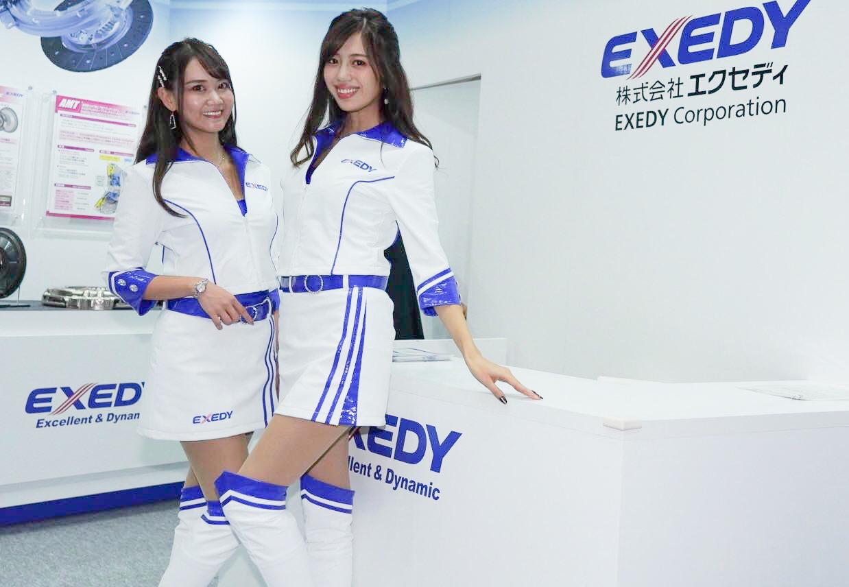 エクセディ 東京モーターショー2019 コンパニオン