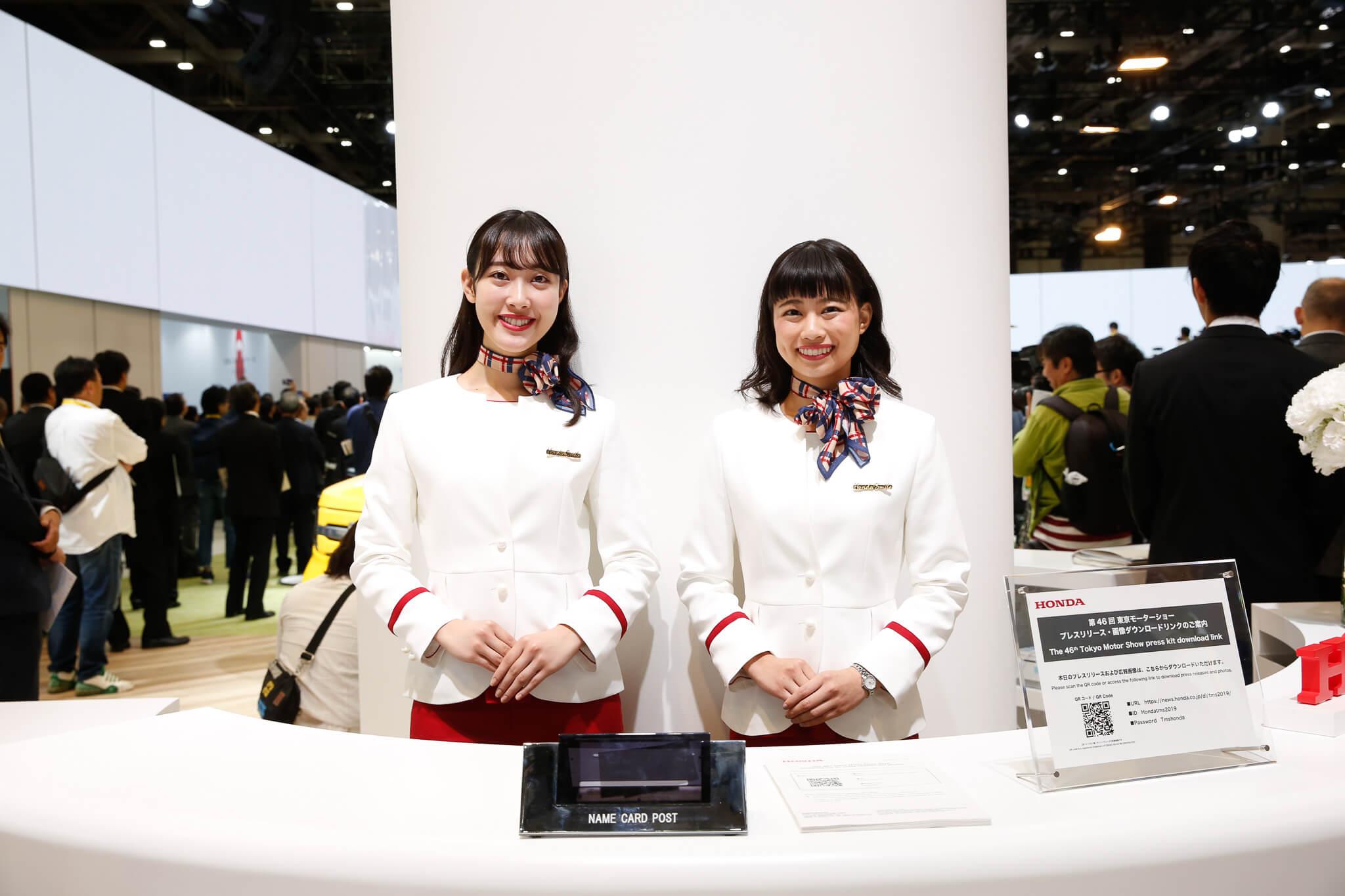 ホンダ 東京モーターショー2019 コンパニオン