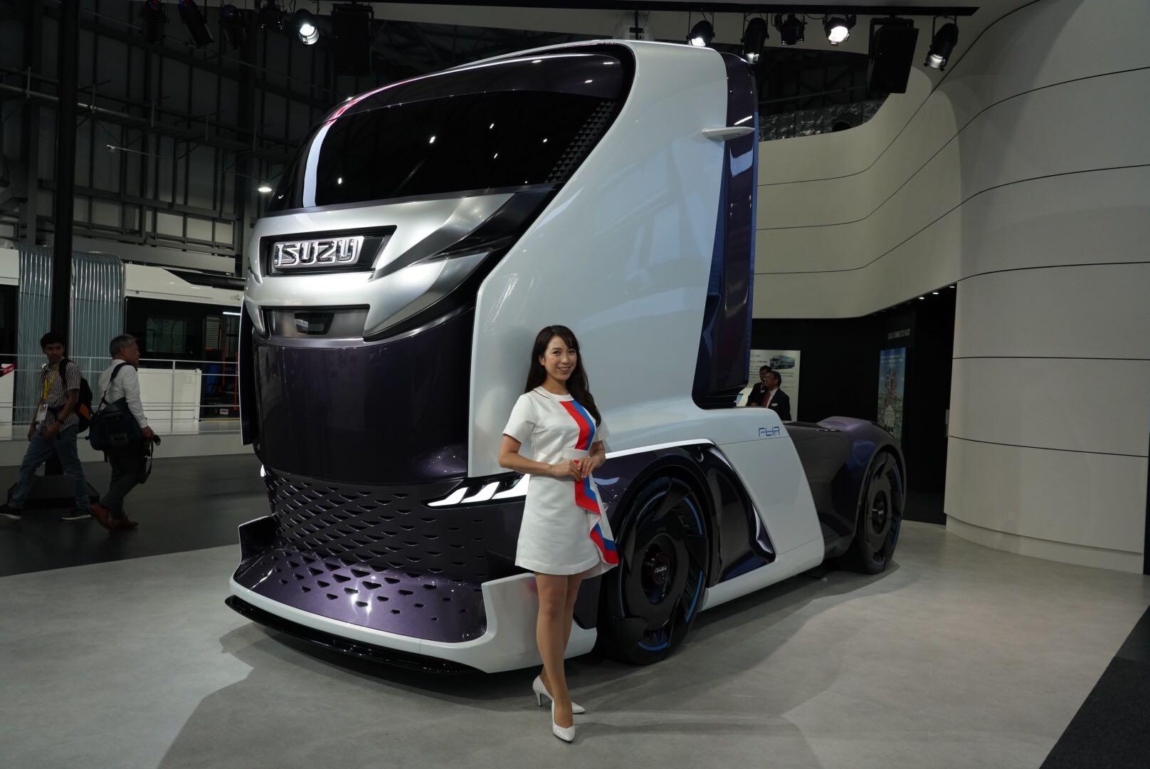 いすゞ FL-IR 東京モーターショー2019