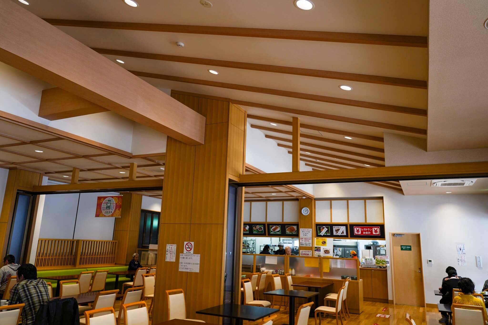 道の駅上野 レストラン