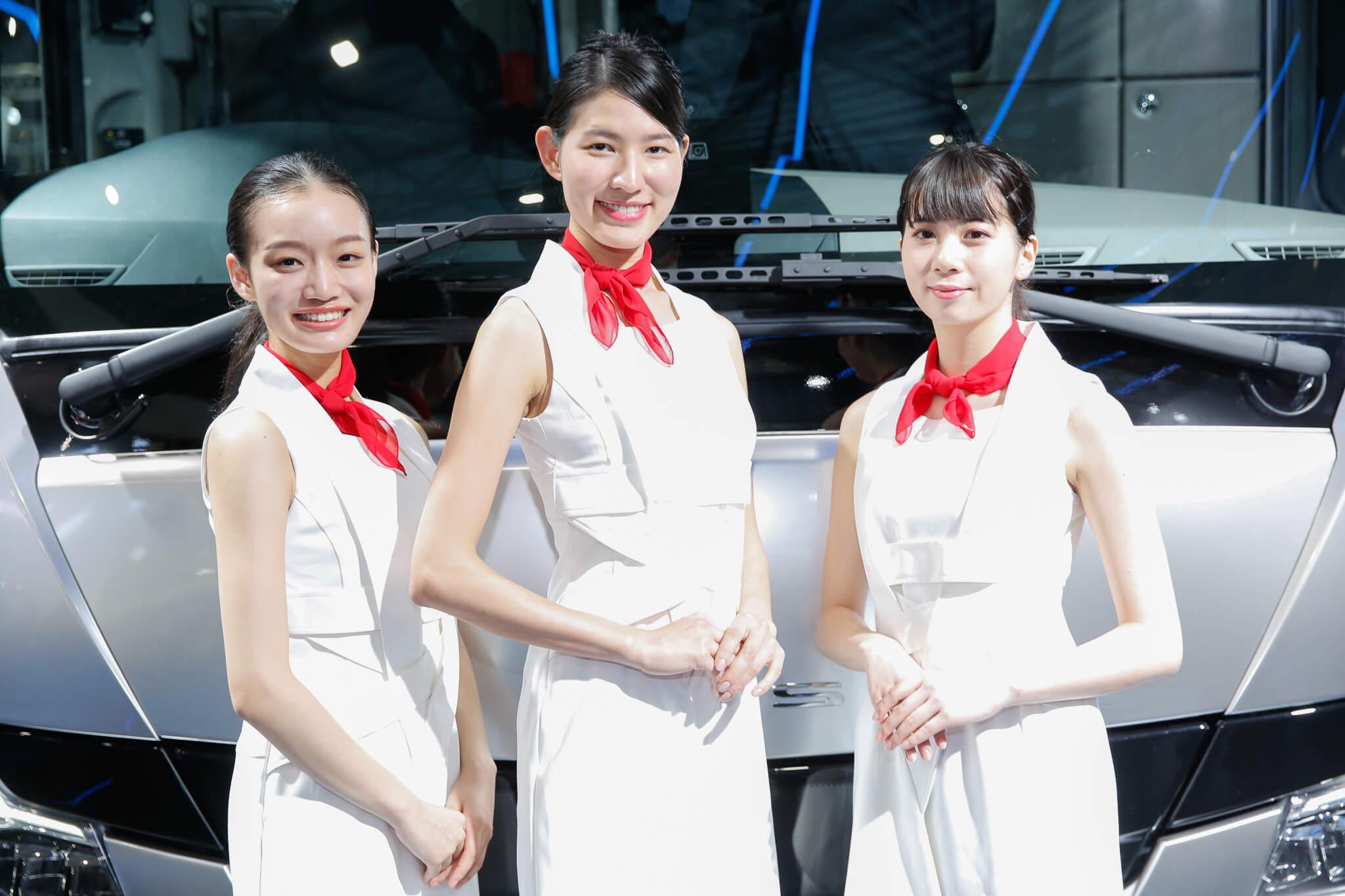 三菱ふそう 東京モーターショー2019 コンパニオン