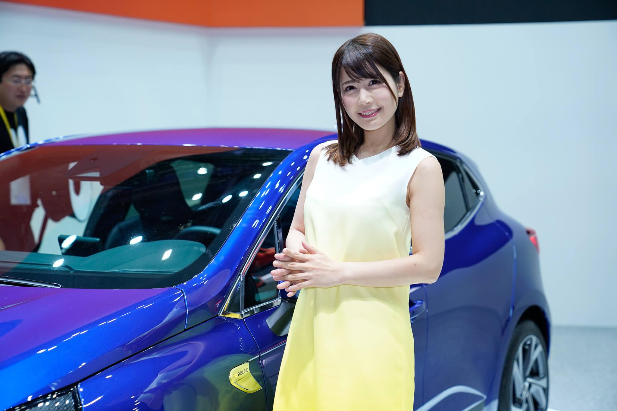 ルノー 東京モーターショー2019 コンパニオン