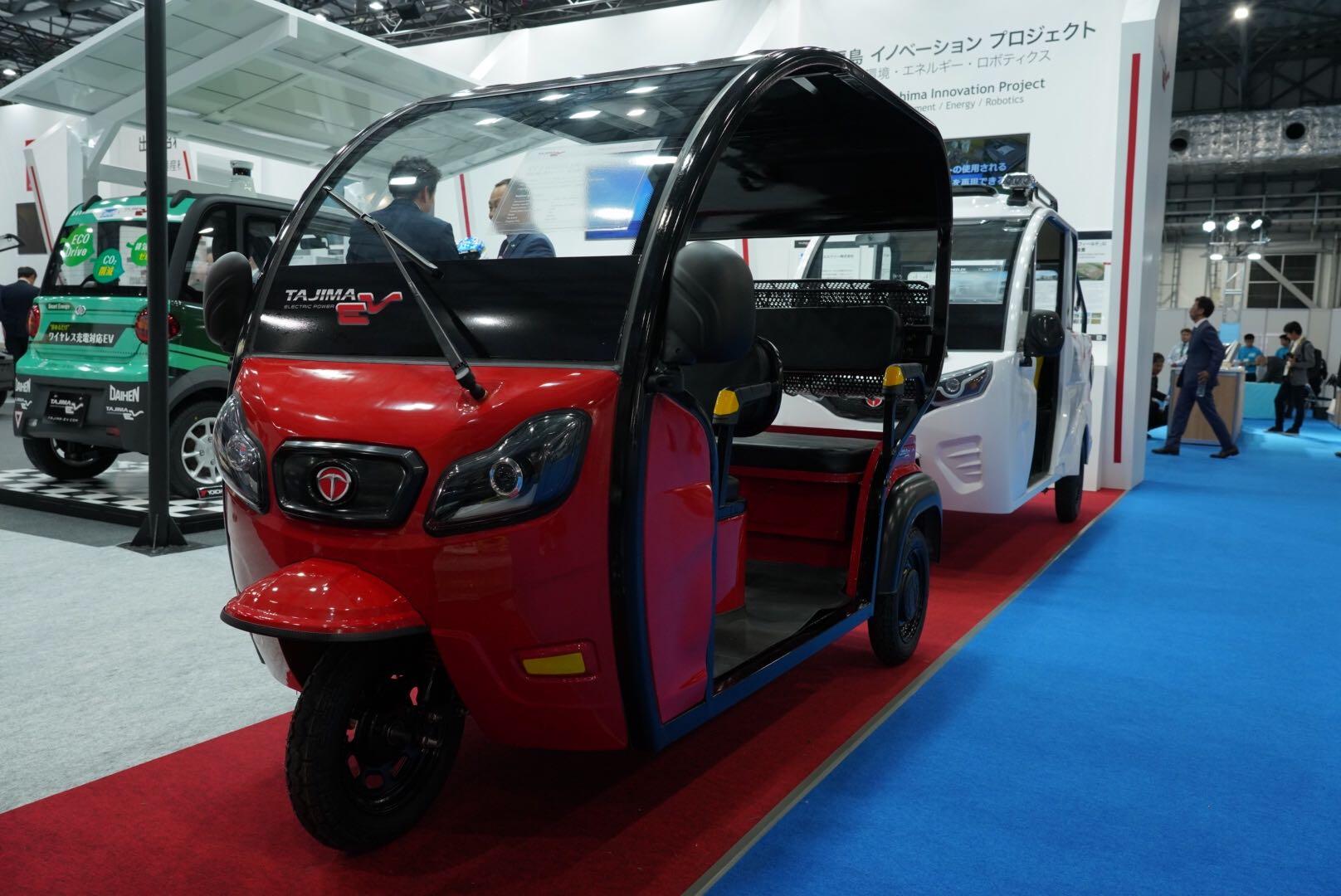 タジマ 電動3輪小型モビリティ(乗用型) 東京モーターショー2019